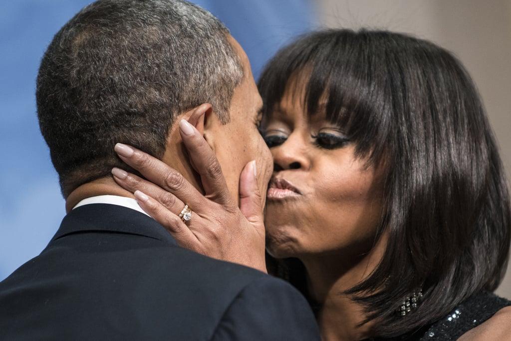 Michelle Obamas Engagement Ring POPSUGAR Fashion Photo 4