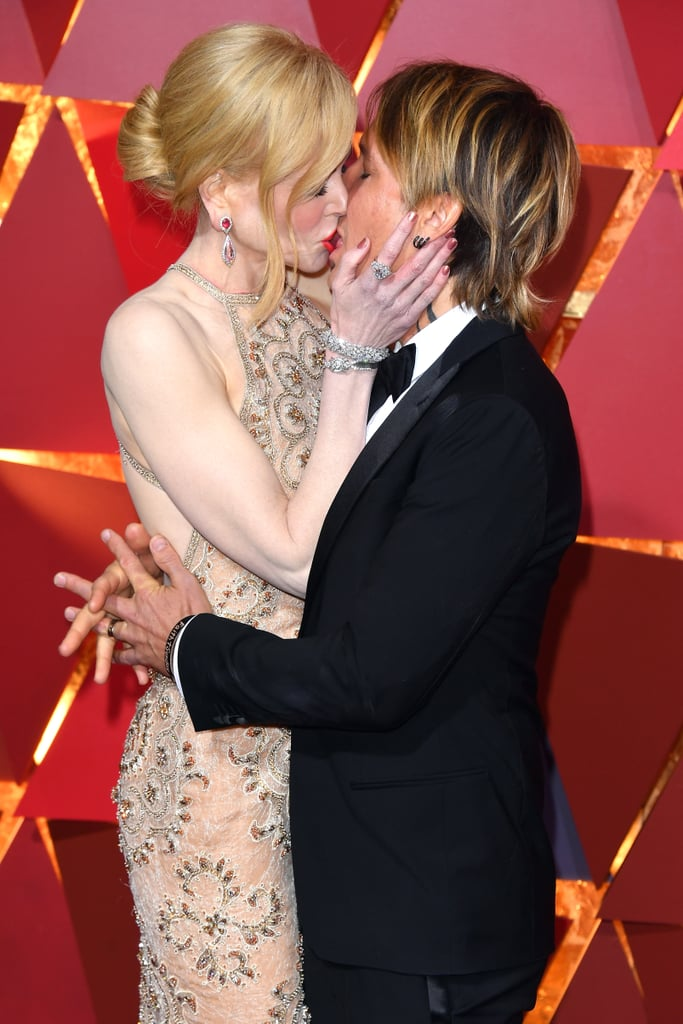 Nicole Kidman and Keith Urban have been spreading their love all over the globe ever since they first got together back in 2005. From their picture-perfect red carpet moments at the Cannes Film Festival to their cuddly appearances at award shows, this hot Australian duo does not shy away from showing PDA. Keep reading to see their best moments.      Related:                                                                                                                                It Took Keith Urban 4 Months to Finally Call Nicole Kidman After They Met
