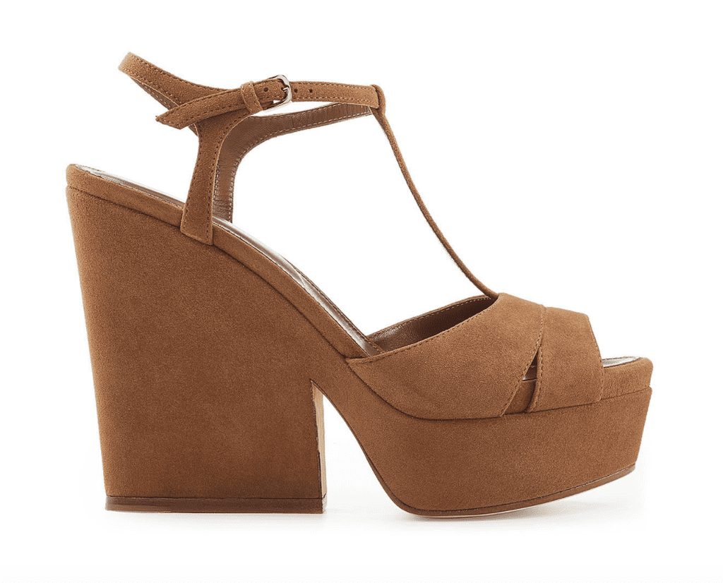 Sergio Rossi Suede Wedge Sandals Factory Outlet Online Buy Cheap Huge Surprise rHmkm
