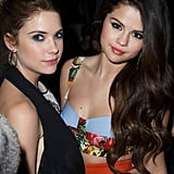 Ashley Benson and Selena Gomez hung out at the Spring Breakers after party at SXSW.