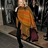 Kate Moss leaves Claridge's hotel followed by husband Jamie Hince.