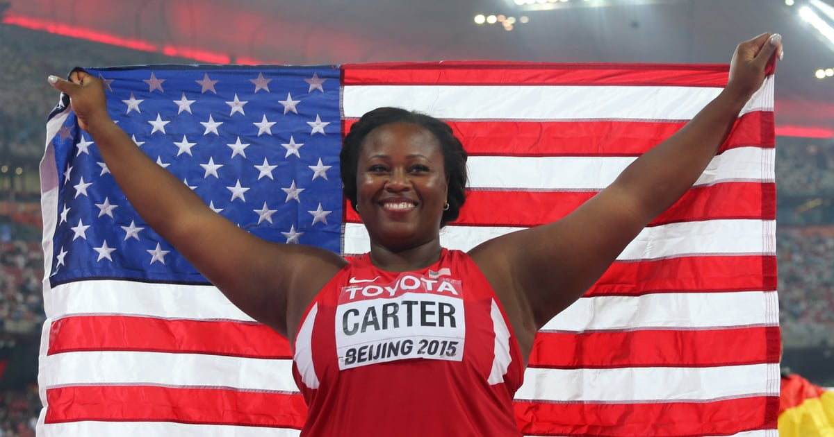 Michelle Carter Athlete >> Olympic Gold Medalist Michelle Carter Knows That Athletes