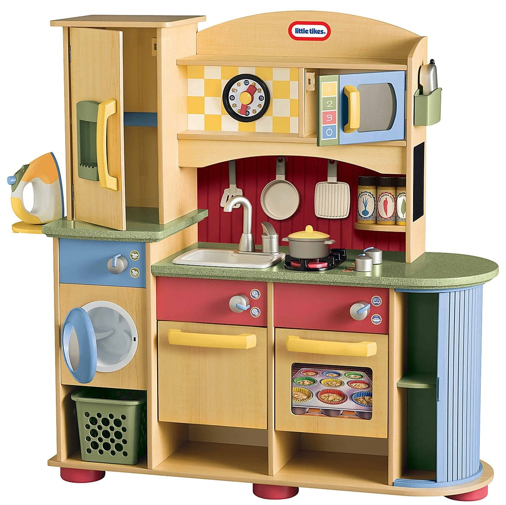 Kidkraft Wooden Play Kitchen wooden play kitchens | popsugar moms