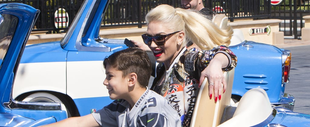 Gwen Stefani Whisks Her Son Away For a Magical Day at Disney California Adventure