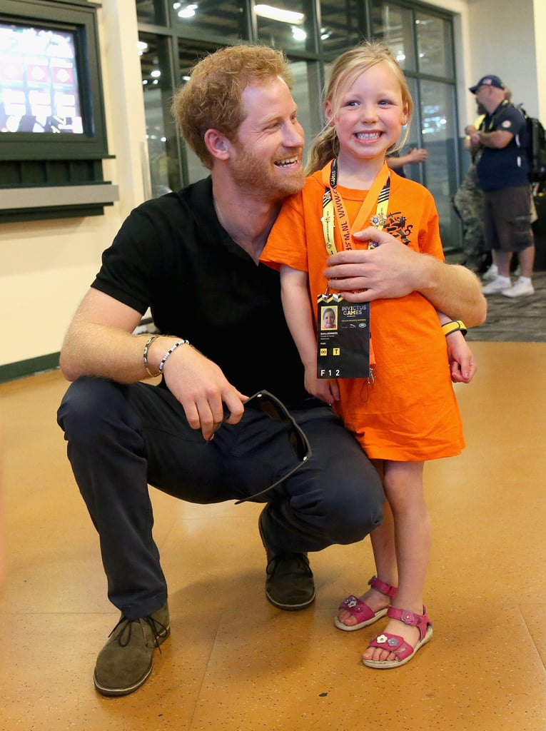 When He Made This Little Girl Feel Like a Princess at the Invictus Games