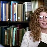 If you're looking for an '80s version of the archetype, then look no further than Rene Russo as a former swimmer and librarian in Major League (1989). She may be sexy, but with her athletic interests and feisty attitude, she doesn't fit into a box.