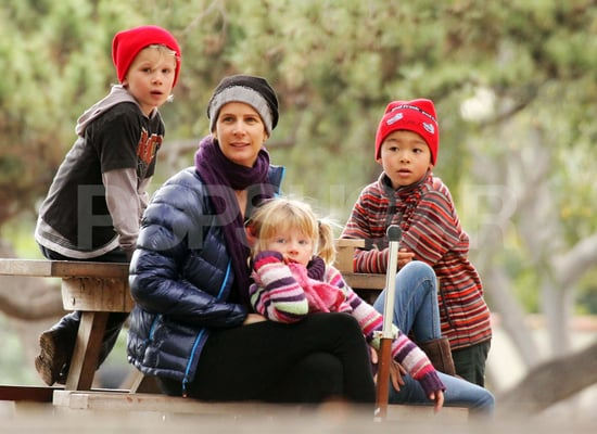 Pictures of Brothers and Sisters' Rachel Griffiths With Her Kids