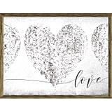 Gray Love Wall Art