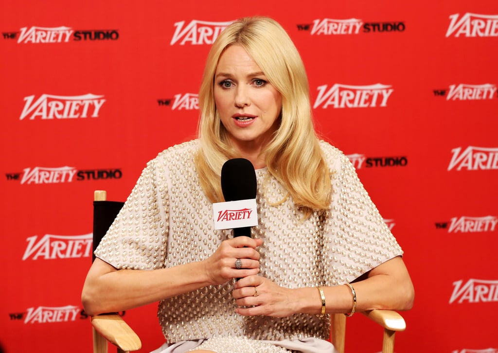 Naomi Watts visited the Variety Studio Presented by Moroccanoil at Holt Renfrew.
