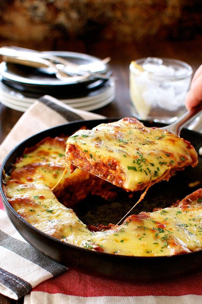 One-Pan Beef Lasagna