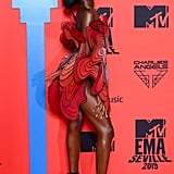 Leomie Anderson at the MTV EMAs 2019