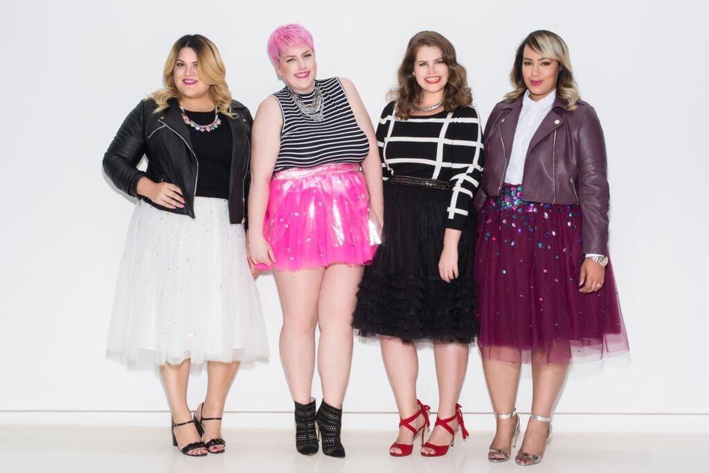 Plus Size Fashion Bloggers Wearing Tulle Skirts Popsugar Fashion
