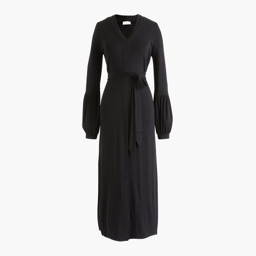Universal Standard x J.Crew Jersey Long-sleeve Maxi Dress