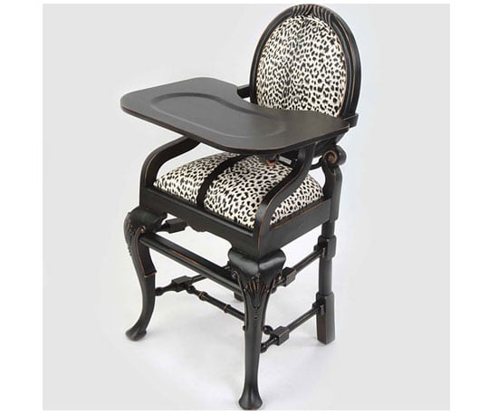 Posh Tots Leopard Chair