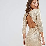 TFNC Allover Sequin Dress