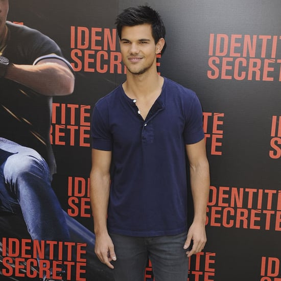 Taylor Lautner at Paris Abduction Photocall Pictures