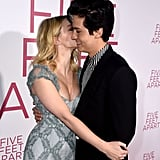 When Lili Gave Cole a Kiss at His Movie Premiere