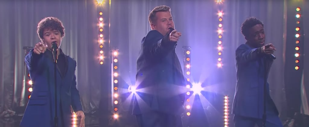 Stranger Things Boys Sing Motown Songs With James Corden