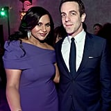Pictured: Mindy Kaling and B.J. Novak