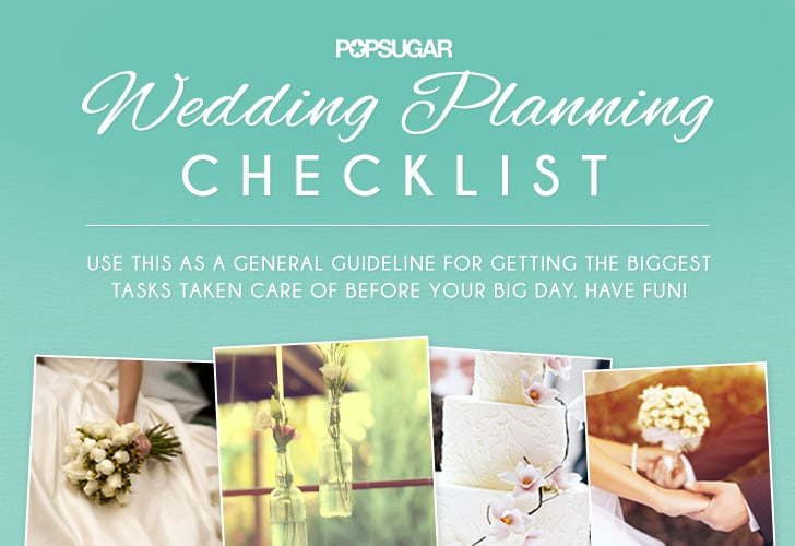 wedding checklist for wedding planner