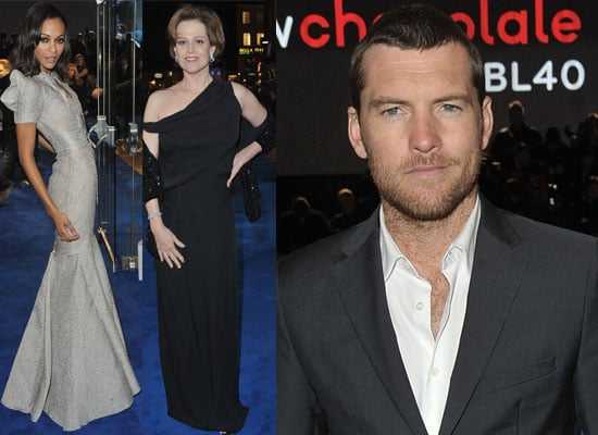 Extensive Gallery of Photos From the Avatar World Premiere in London with Sam Worthington, Zoe Saldana, Michelle Rodriguez