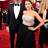 Sofia Vergara and Joe Manganiello at the 2017 SAG Awards