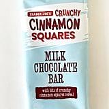 Crunchy Cinnamon Squares Milk Chocolate Bar ($2)