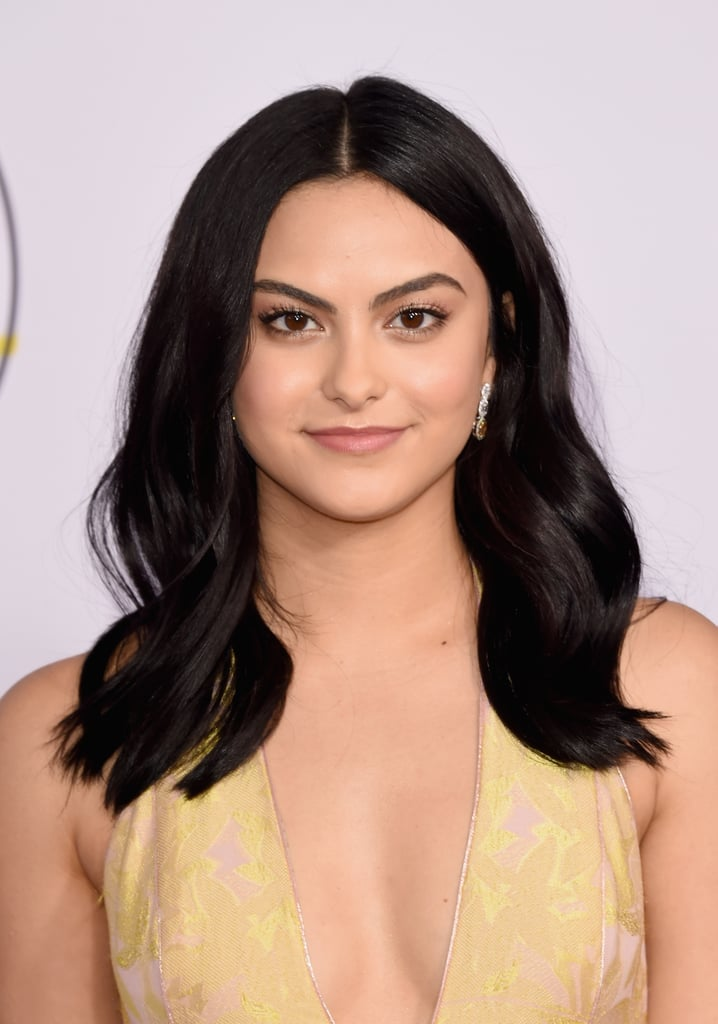 Camila Mendes With Black Hair