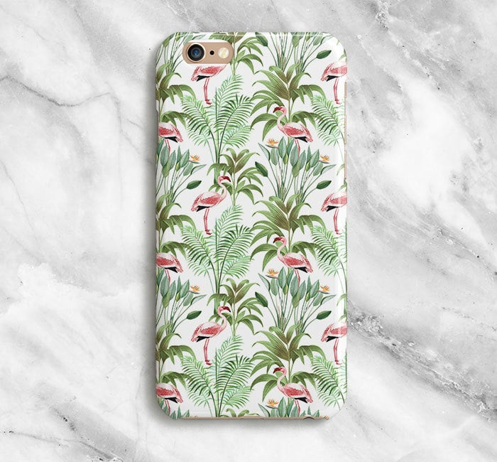 Our new favorite trend we're trying on iPhone cases are flamingo's, as they instantly make us think of somewhere tropical and warm. See some of our favorites we found ahead and then get one for yourself!      Related:                                                                                                           66 Enchanting Disney Princess iPhone Cases You Need Right Now