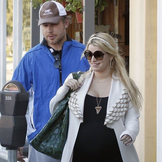 Pregnant Jessica Simpson Eric Johnson Pictures After Christmas