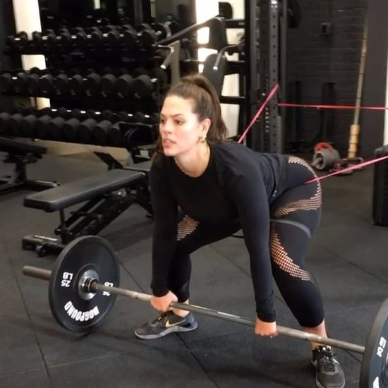 Ashley Graham Working Out on Instagram