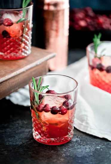 Cranberry Rosemary Shrub Cocktail