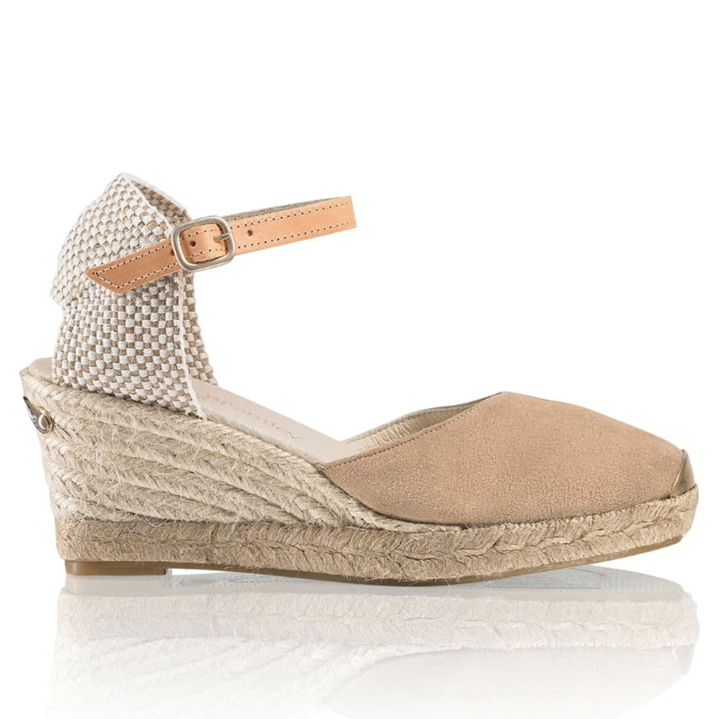 Russell and Bromley Coco-Nut Ankle Strap Espadrille