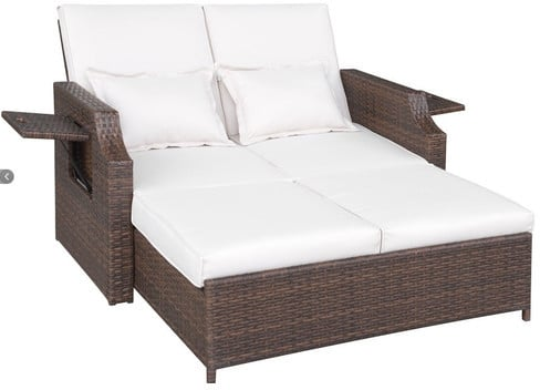 Daybed with Cushions ($940)