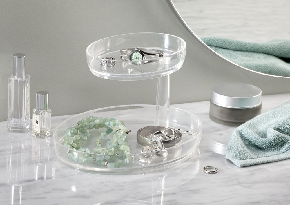 Clarity 2 Tier Vanity Tray