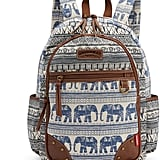 Elephant Graphic Backpack
