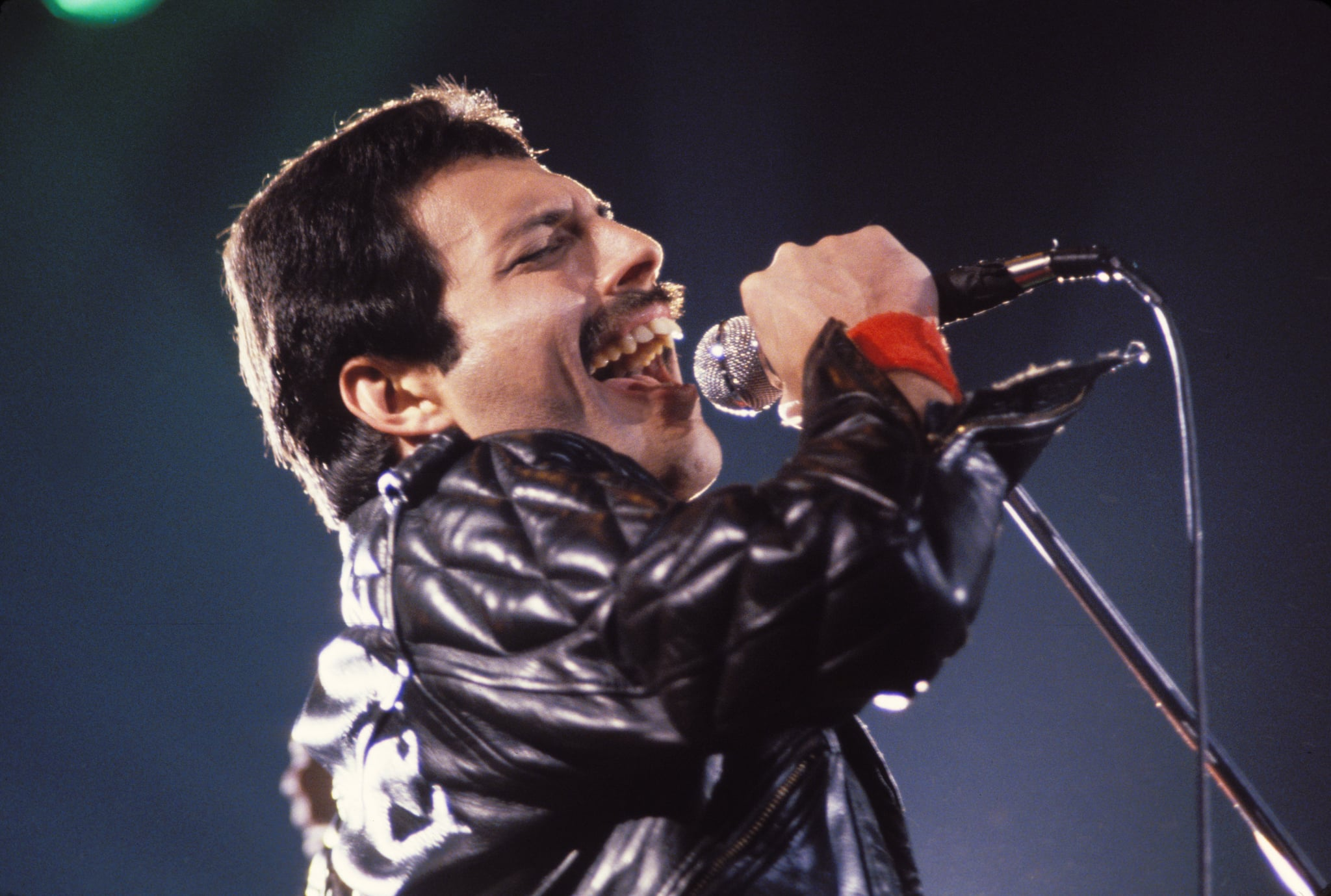 Freddie Mercury of Queen on