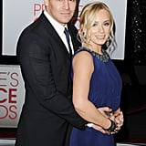 David Boreanaz and Wife Jamie Bergman