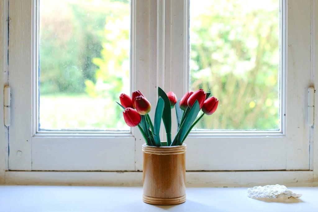 Buy yourself fresh flowers!