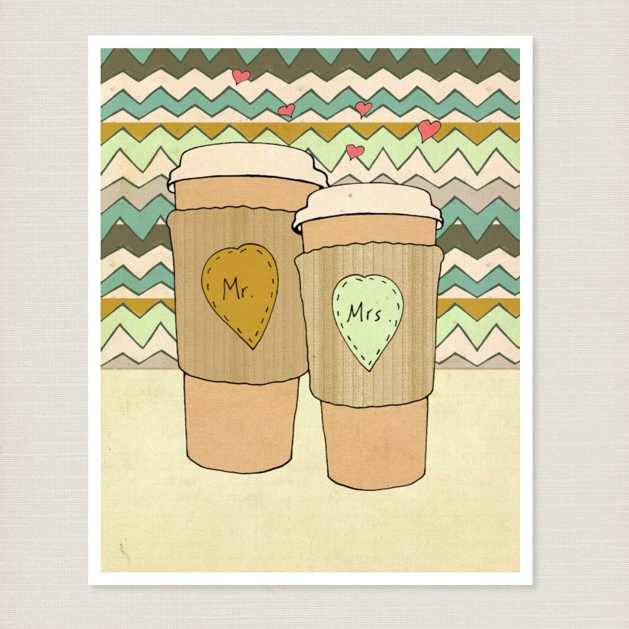 Mr. and Mrs. Coffee ($18-$57)