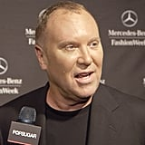 """The Michael Kors Approach to Spring '14? """"No Bandage Dresses, No Leggings"""""""