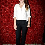 Lou Doillon toasted her Barneys campaign at The Jane hotel.