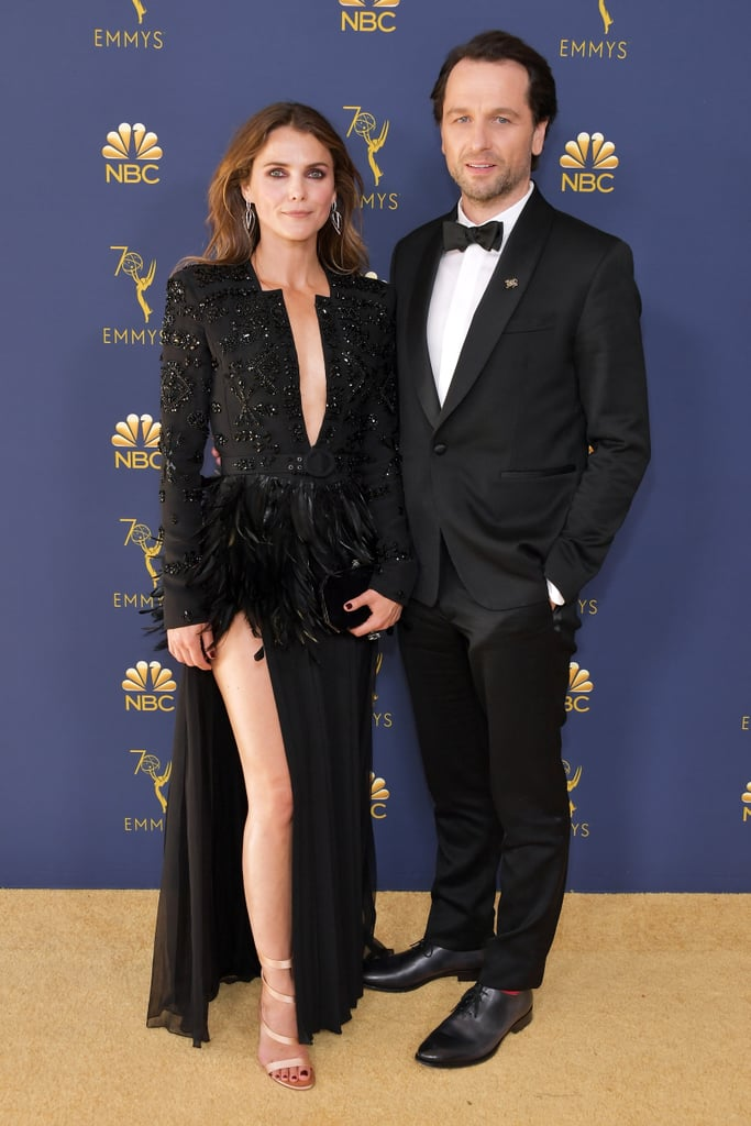 Keri Russell et Matthew Rhys aux Emmy 2018