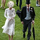 At the Royal Ascot, They Both Made Sure Their Hats Stood Tall