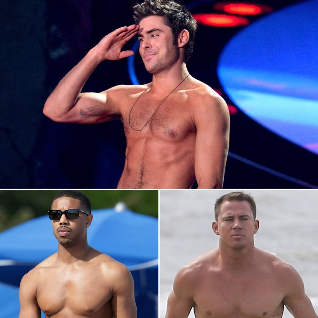 Hottest Celebrity Shirtless Moments of 2014