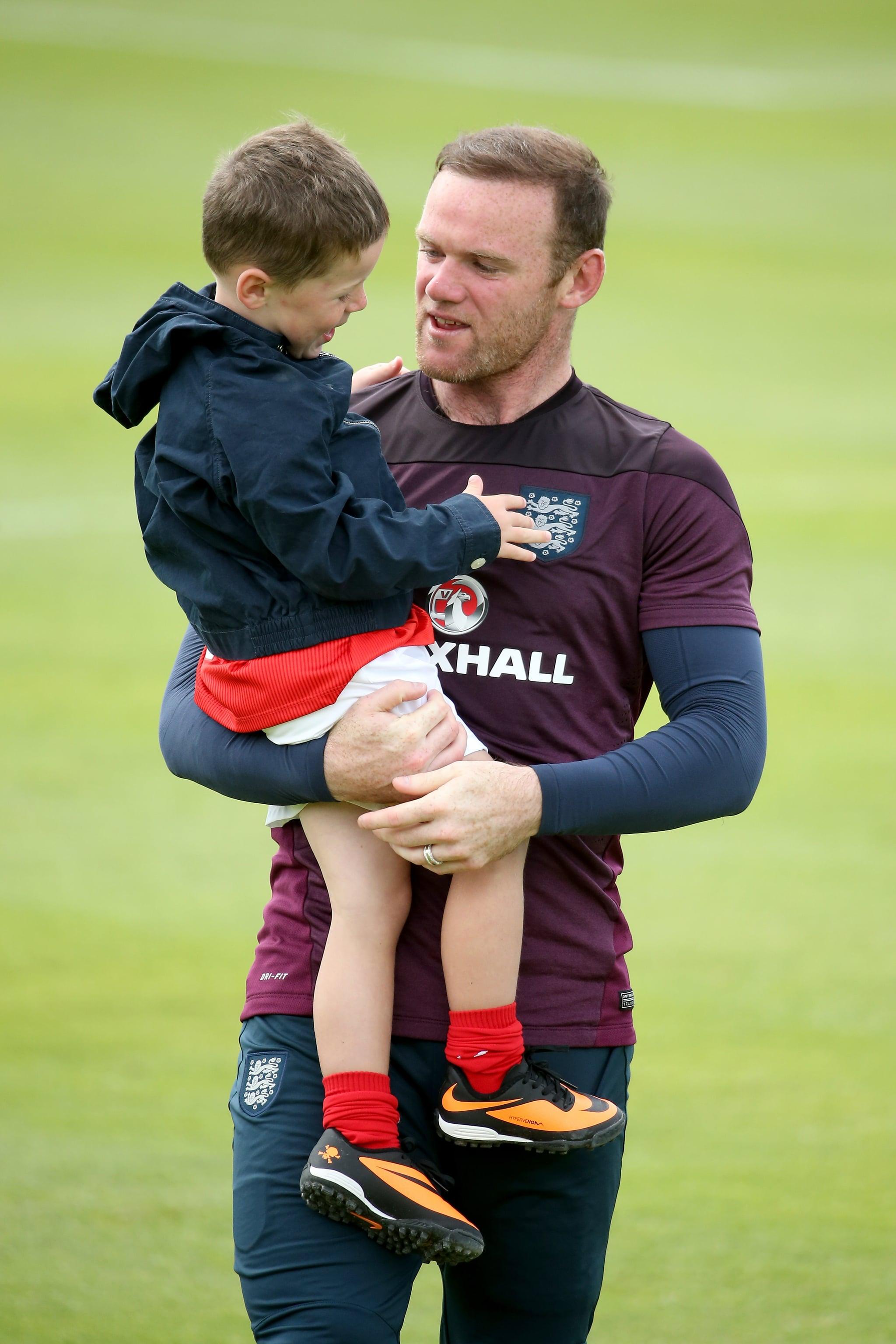 Wayne Rooney —England