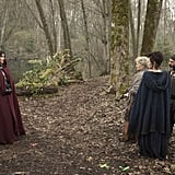 Regina, Granny, Grumpy, and Blue Fairy