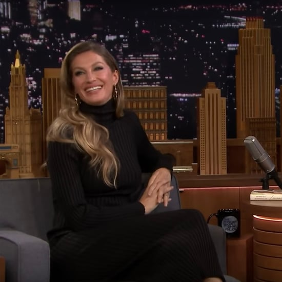 Gisele Bündchen Talking About Tom Brady on Jimmy Fallon 2018