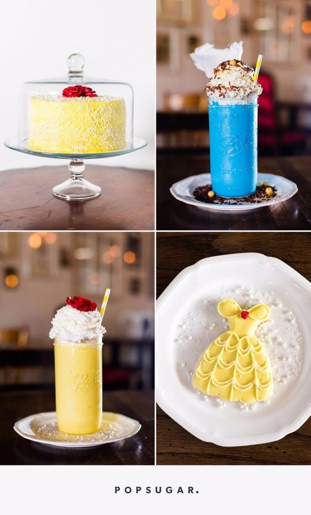 Beauty And The Beast Dessert Menu Popsugar Food