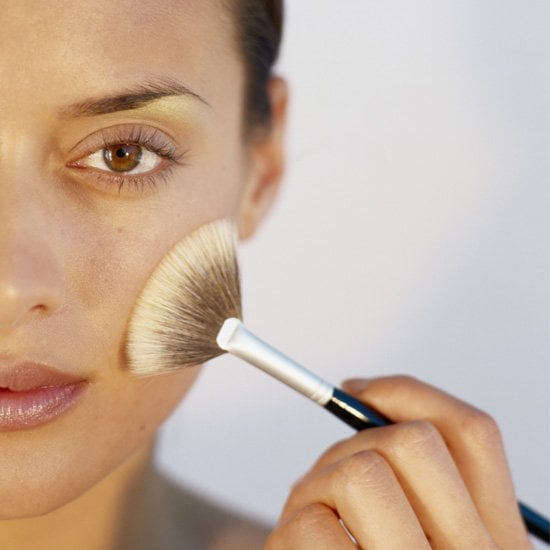 How To Use A Fan Brush To Apply Makeup Popsugar Beauty